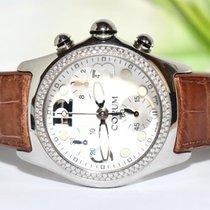 Corum BUBBLE Chronograph 45mm Brillant Lünette 39615020 Papiere