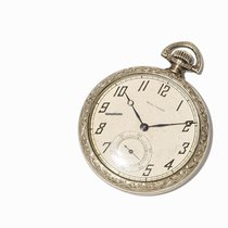 Waltham Pocket Watch with Gilded Casing