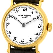 "Patek Philippe Lady's 18K Yellow Gold  ""Officer's..."