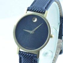 Movado Damen Uhr 25mm Stahl Museum Watch Rar 3 Top Zustand...