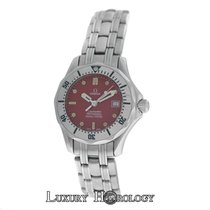 Omega Ladies Seamaster 2583.80.00 Diver's 300M Steel 28mm...