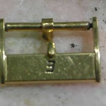 Eberhard & Co. vintage gold plated buckle mm 16.5