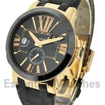 Ulysse Nardin GMT Dual Time Executive 43mm with Black Ceramic...