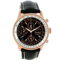 Breitling Montbrillant Olympus Rose Gold Limited Edition Watch
