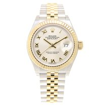 Rolex Lady Datejust Gold And Steel Silver Automatic 279173SVRN_J