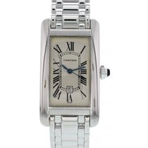 Cartier Tank Américaine 18K White Gold 1726