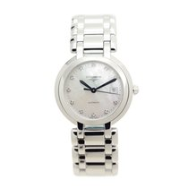 Longines Prima Luna Stainless Steel White Automatic L8.113.4.87.6