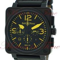 "Bell & Ross BR01-94 ""Yellow"" Chronograph, Black..."