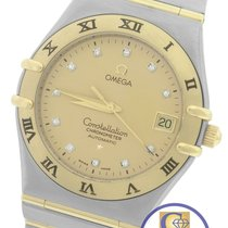 Omega Constellation '95 35mm Diamond Two-Tone Gold Full-Bar