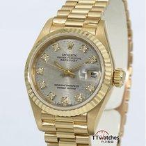 勞力士 (Rolex) Ladies Datejust 69178g Jubilee Diamond Dial...