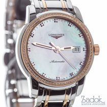 Longines Saint-Imier 30mm Automatic Steel, 18k Rose Gold &...