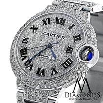 Cartier Diamond Cartier Ballon Bleu W6920071 Automatic Small...