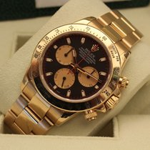 Rolex Daytona yellow gold paul newman dial box papers - oro