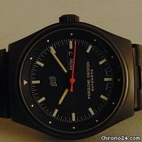 Porsche Design day-date in black