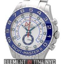 Rolex Yacht-Master II Stainless Steel 44mm Blue Bezel Ref. 116680