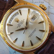 Rolex 1957 RARE & MINT Silver Dial Diamond Markers 18K...