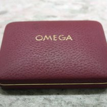 Omega rare watch box burgundy leather