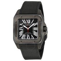 Cartier Santos Automatic Black Dial Men's Watch