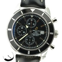 Breitling Superocean A13320 Steel Automatic Chronograph Black...
