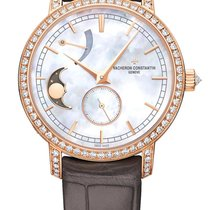 Vacheron Constantin Traditionelle Moon Phase Pink Gold