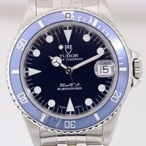 Tudor Submariner Medium Klassiker Tudor Faltband blue Top Papiere