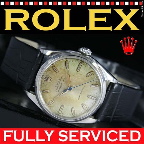 Rolex 1957s Metropolitan Super Precision Oyster Perpetual 5500