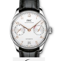 IWC PORTOGHESE Portugie Automatic 42,3 Mm SILVER DIAL IW500704 T
