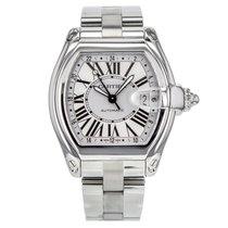 Cartier Roadster Xl Gmt W62032x6 Stainless Steel Men's Watch