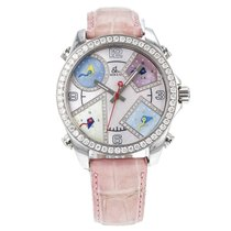 Jacob & Co. . 5 Five Time Zones Watch With Mop Diamond...