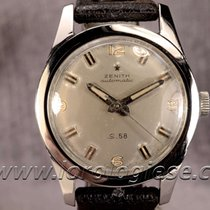 Zenith S.58 Bumper Automatic 1960`s Military Style Steel Watch...