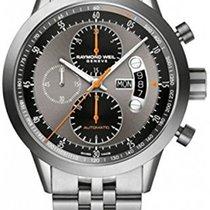 Raymond Weil Automatic chronograph Titanium on steel 7745-TI-0...