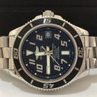 Breitling Superocean Black Dial Automatico 42mm Completo