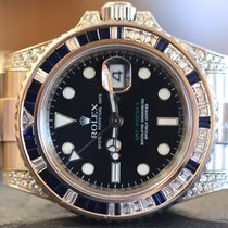 Rolex GMT Master II Sapphires and Diamonds