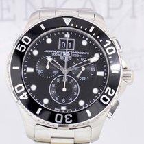TAG Heuer Aquaracer 43mm Grande Date Chronograph Steel Sport...
