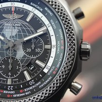 Breitling for Bentley B05 Unitime Blacksteel on  Rubber...