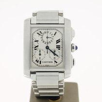 Cartier Tank Francaise Chronoflex (BOX2003) Steel 28mm