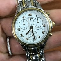 Longines Chronograph 5 stars stelle Golden Wing oro gold...