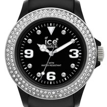 Ice Watch Stone Tycoon Swarovski Black Polyamide Steel Strap...