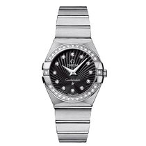 Omega Constellation  Stainless Steel Ladies watch 123.15.27.60...
