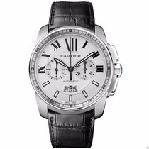 Cartier Calibre de Cartier Chronograph W7100046 Stainless...