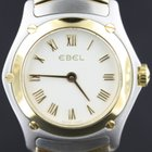 Ebel Classic Wave lady's gold/steel