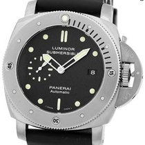 "Panerai Gent's Titanium  47mm ""Luminor 1950 PAM 305..."