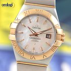 Omega Constellation Co-Axial 31mm Steel - Red Gold Watch MOP Dial