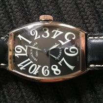 Franck Muller Casablanca 18k White Gold Black Dial