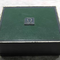 Omega vintage de ville watch box green leather