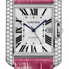 Cartier Tank Anglaise White gold NEW 40% off