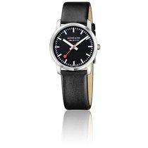 Mondaine Montre Simply Elegant All Black Brushed 36 mm