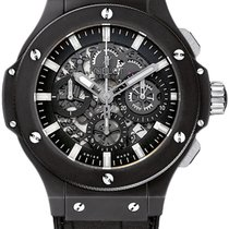 Hublot Aero Bang 44mm Black Magic Ceramic Watch