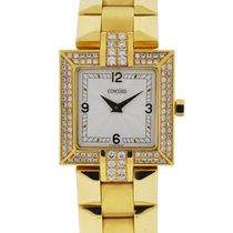 Concord La Scala 18k Yellow Gold Diamond Watch
