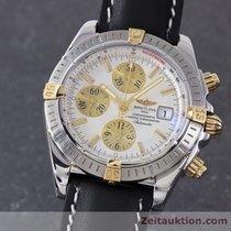 Breitling Chronomat Evolution Gold / Stahl Automatik B13356